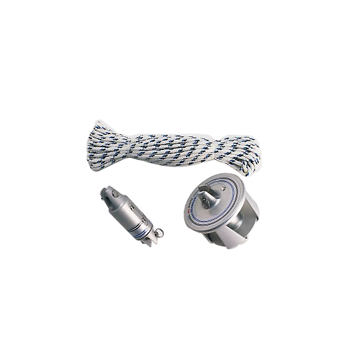 Schaefer Furling Kit for 25' to 31' Boat Length, System 650, 3400lb. SWL, 1/4 Max Wire Dia., 3/8 Pin Dia., 4-7/8 Pin-to-Pin