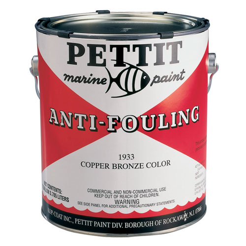 Pettit Paints Copper Bronze Antifouling Paint, Quart