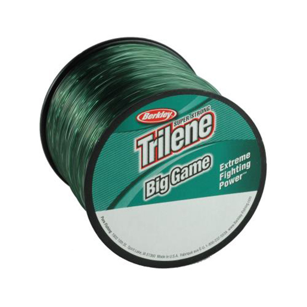 Trilene Big Game Monofilament, 20 lbs, 650 yds, Green