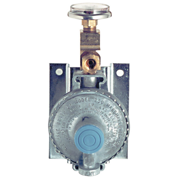 Trident Marine Single-Stage Bulkhead-Mount LPG Regulator
