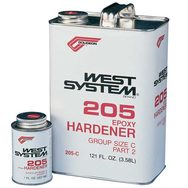 West System #205-B Fast Hardener, 0.86qt.