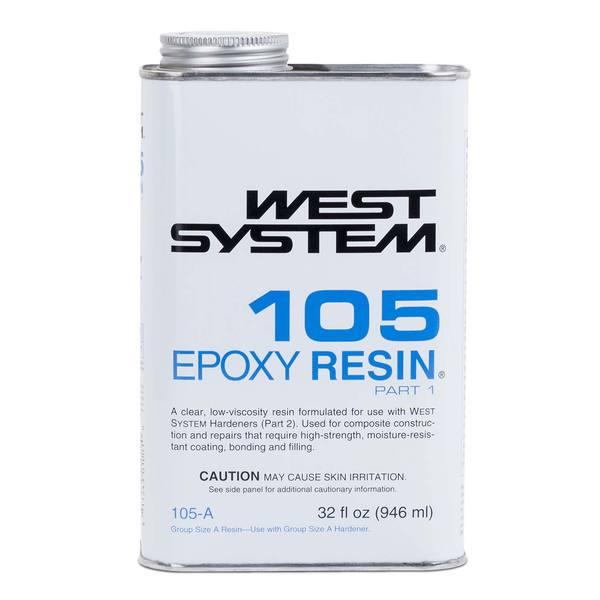 West System 105 A Epoxy Resin West Marine