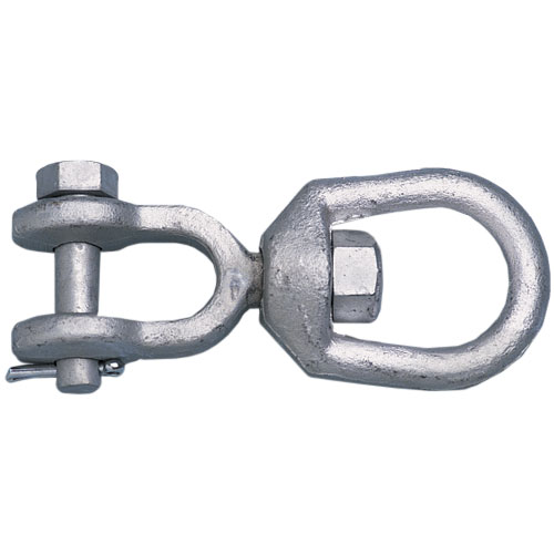 Galvanized-Steel Jaw & Eye Swivels