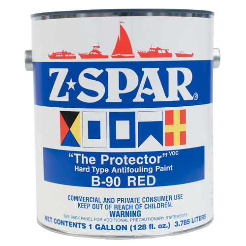 Z Spar Paint - Bottom Protect - Red/Gallon