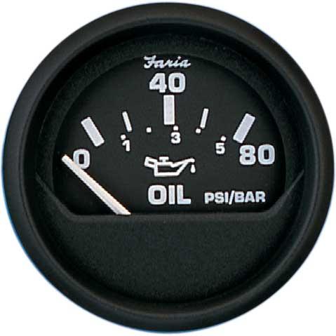 Faria Instruments Euro Oil Pressure Gauge, 2, 080 psi Sale $29.99 SKU: 3703618 ID# 12803 UPC# 759266128033 :