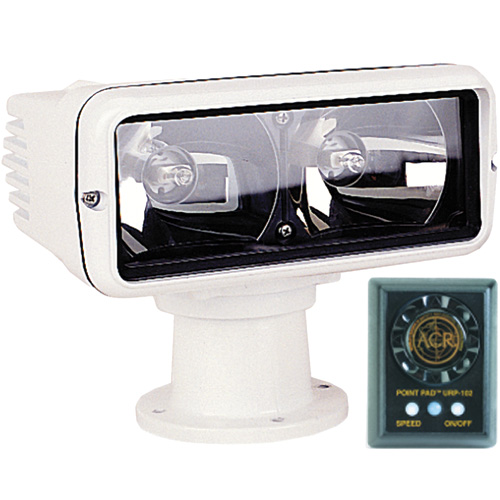 Acr Electronics RCL-100D Motor-Driven Dual Beam Remote-Control Searchlight
