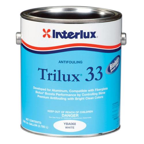 Interlux Trilux 33 Antifouling Paint, Blue, Gallon Sale $244.99 SKU: 3734316 ID# YBA060/1 UPC# 89148110604 :