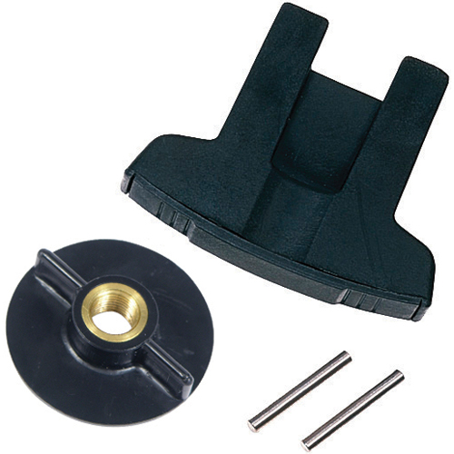 Trolling motor prop nut wrench kit with shear pins for Aftermarket trolling motor props