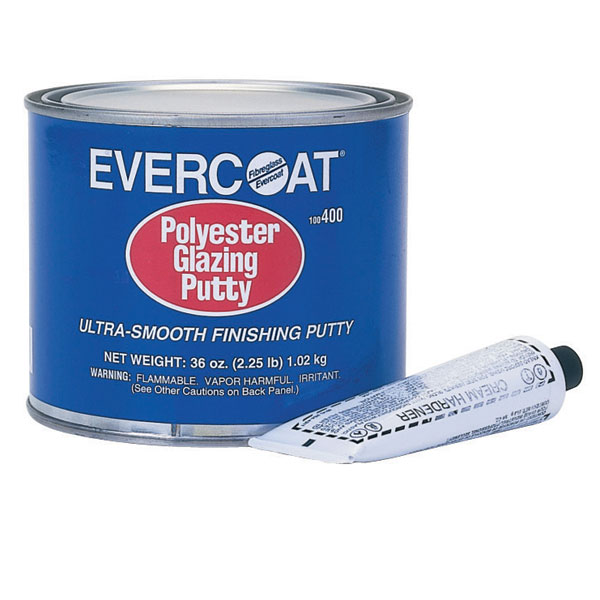 Evercoat Polyester Glazing Putty - Qt. Sale $47.99 SKU: 391730 ID# 100400 UPC# 23289004002 :