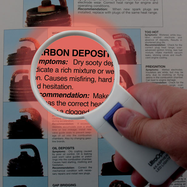 Ultra Optix Lighted Chart Magnifier