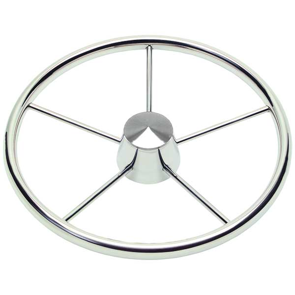 Schmitt Marine Steering Stainless-Steel Destroyer Wheel Sale $97.99 SKU: 406306 ID# WM1721521 UPC# 835719000825 :