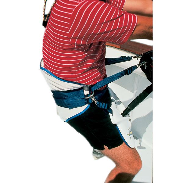Braid Fighting Belt Harness - Large, 36-56 waist