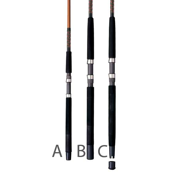 Ugly Stik Tiger Rod, Casting, ML, 7'