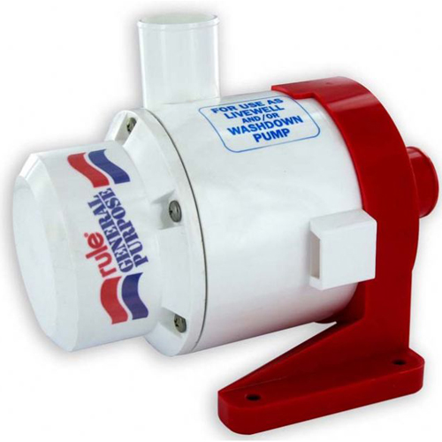 Rule Industries Rule 3700 General Purpose Centrifugal Pump Sale $244.99 SKU: 4335170 ID# 18A UPC# 42237084750 :