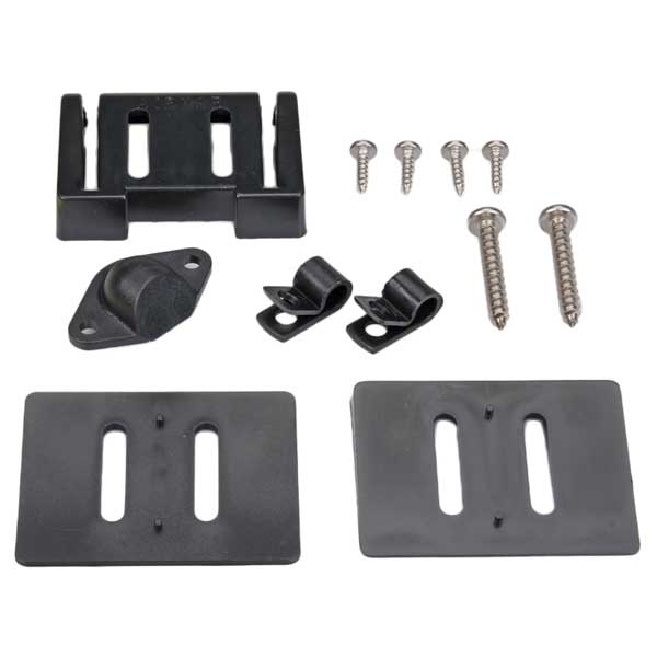 Transducer Replacement Parts : Garmin transom mount transducer bracket replacement west