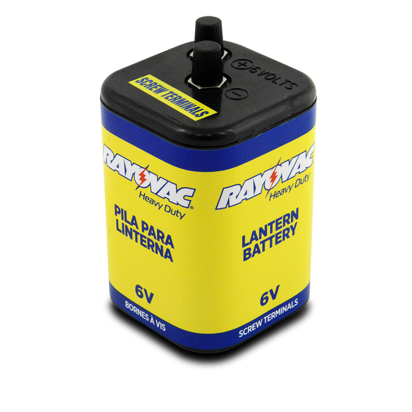 Ray O Vac Alkaline 6V Battery, Screw Top
