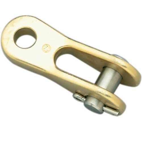 Alexander Roberts Chrome Eye Jaw Toggle, 1/4 Pin dia., 1-1/16 Pin-to-Pin
