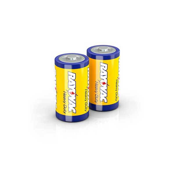 Ray O Vac Alkaline D Batteries, 2 Pack