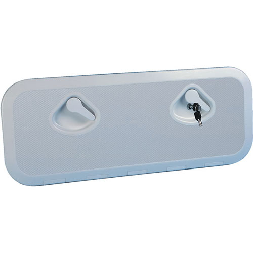 Nuova Rade Locking Hatch, White, External Dimensions: 14.6 x 14.8