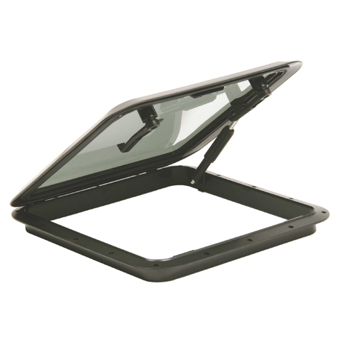 Bomar Black Molded Hatch, 19-3/4 x 19-3/4 Cutout Size