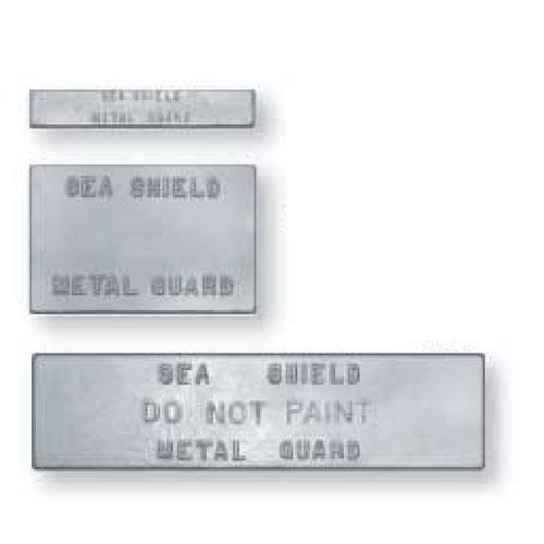 Sea Shield Marine ZPN-1 Anode Plate 1/2 x 1 x 6
