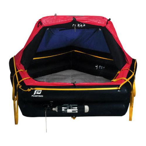 Offshore Plus Life Raft, 4-Person with Canister