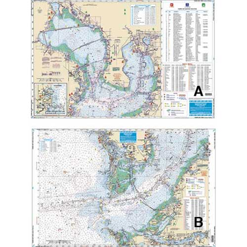 Waterproof Charts Tampa Bay Area Inshore Fishing