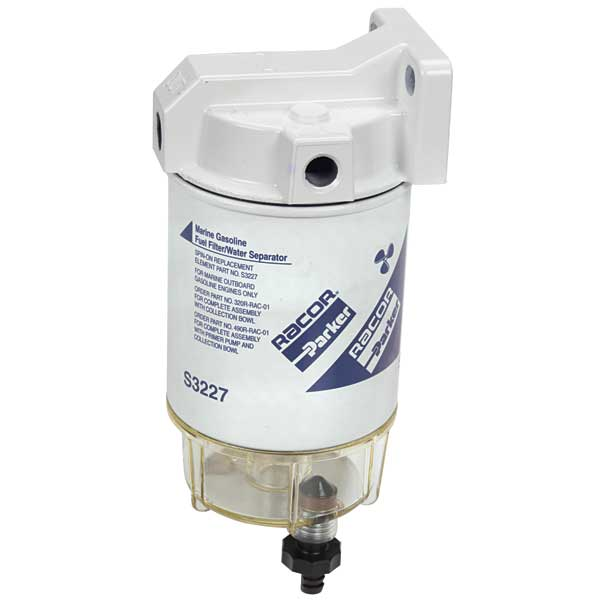 Racor 10 Micron Spin-On Series Fuel Filter/Water Separator - O/B 320 Sale $99.99 SKU: 484964 ID# 320R-RAC-01 UPC# 706672000095 :