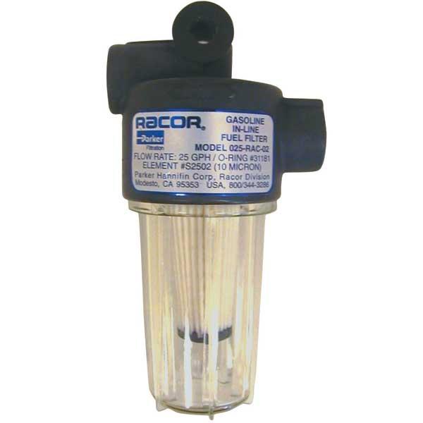 racor 10 micron spin water separator