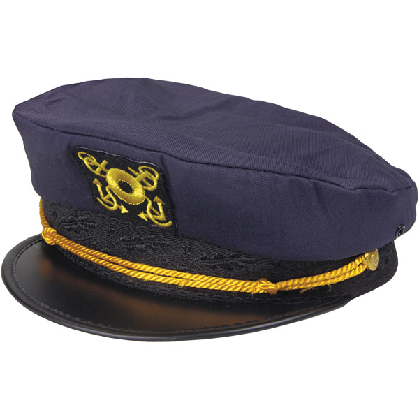 Dorfman Pacific Classic Captain's Hat, Navy Sale $18.99 SKU: 4991600 ID# WMMC52-NAVY UPC# 16698804714 :