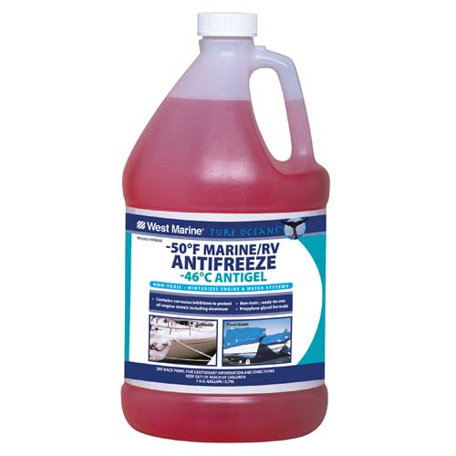 Pure Oceans -50°F Engine & Water System Antifreeze