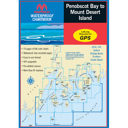 Maptech Penobscot Bay to Mount Desert Island Sale $54.95 SKU: 5097381 ID# WPB0210 UPC# 9780743608763 :