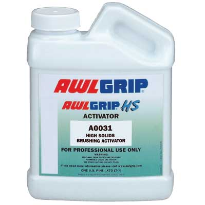 Awlgrip Brushing Activator/Reducer for Awlbrite Clear J3005/J3006, 1 Pint