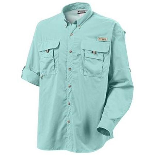 Men 39 s pfg bahama ii shirt for Embroidered fishing shirts