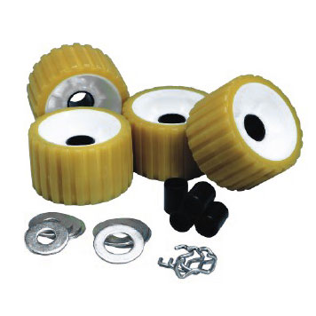 C E Smith Thermo-Plasticized Rubber Ribbed Roller Kit