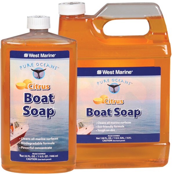 Pure Oceans Citrus Boat Soap, Gallon