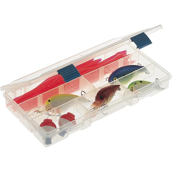Plano Pro-Latch Box - 5 to 9 Compartments, 9 1/8L x 5W x 1 1/4H