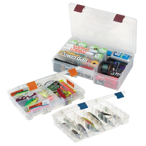Plano Pro-Latch Box 14L x 9 1/8W x 2 13/16H, 6-21 Compartments