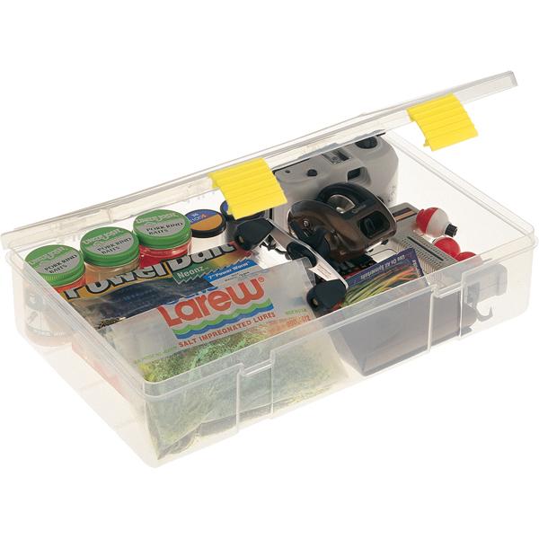 Plano Pro-Latch Box, 14L x 9 1/8W x 3 1/4H, Single Compartment