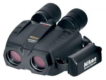 Nikon StabilEyes 12 x 32 Binoculars, 261' @ 1000yd. Field of View, 15mm Eye Relief, 7 5/16 x 5 13/16 x 3 1/8, 38.8oz.