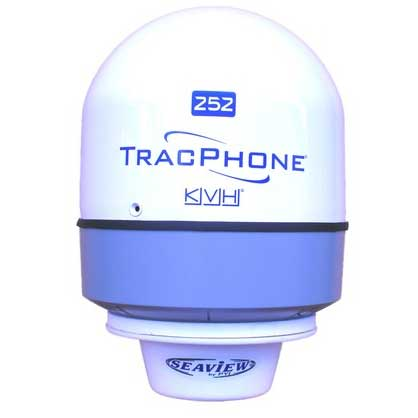 Low Profile Satdome Adapter For KVH Trac 252