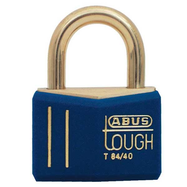 Abus Lock Black Gold Brass Padlock - Medium