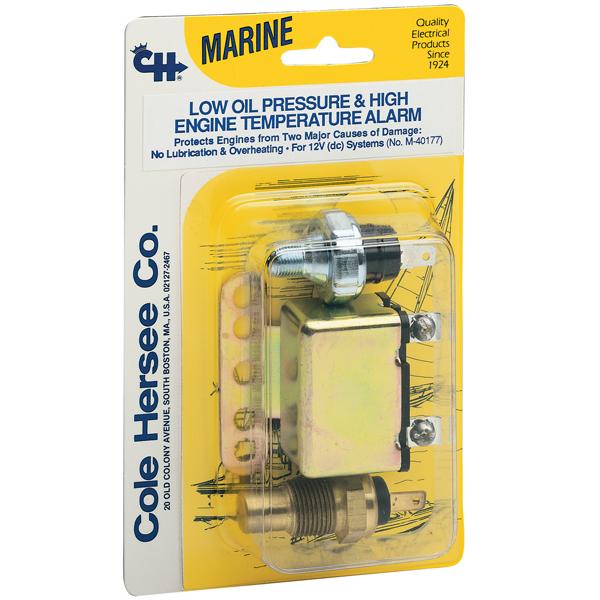 Cole Hersee Marine Engine Warning Kit Sale $36.99 SKU: 546556 ID# M-40177-BP UPC# 632850549202 :