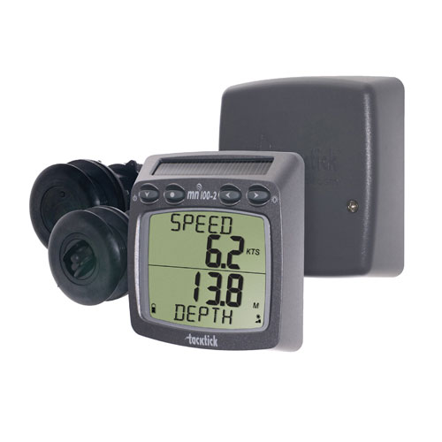 Tacktick Micronet Wireless Instruments - T100 Speed & Depth Starter Kit