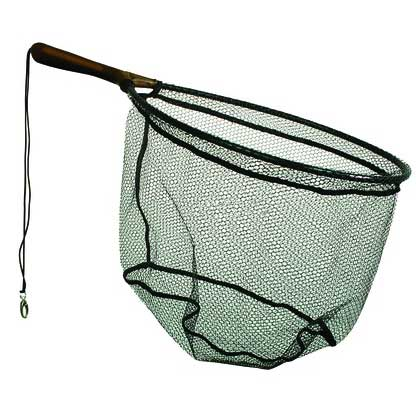 Frabill trout net 13x18 hoop 7 1 2 handle west marine for Fishing hoop nets