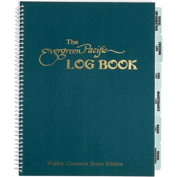 The Evergreen Pacific Log Book Sale $21.99 SKU: 561407 ID# 1.11 UPC# 619456001112 :