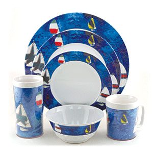 Galleyware Spinnaker Dinnerware