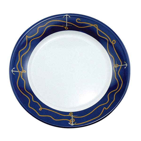 Galleyware Patterned Dinnerware - Salad Plate, 8, Anchorline