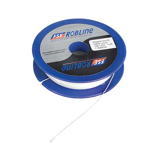 Fse Robline Waxed Whipping Twine, White,#16 (1.5mm), 104'L Sale $8.29 SKU: 599654 ID# TY-15W UPC# 9011800068023 :