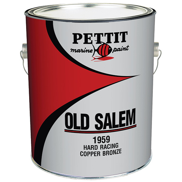 Pettit Paints Non-Antifouling Hard Racing Copper Bronze Paint, Quart